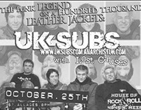 Flyer: UK Subs