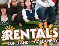 Flyer: The Rentals