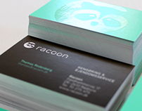 Racoon visual identity