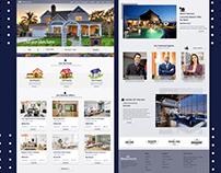 Real Estate Web Design / UI - UX