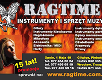 Ragtime Music Shop Press Add