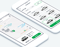 Carsharing Service Mobile App