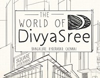 World of Divyasree illustration