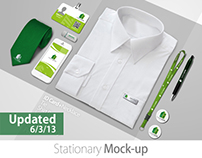 Branding/Identity Mock up (Update)