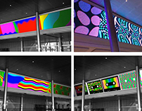 W-ATT: Art on the Marquee Video Wall