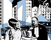 Belmont Cinema Mural - Aberdeen