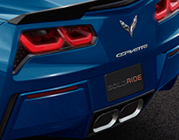 2015 Corvette C7 ZR1 Speculative renders