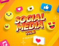 Social media Vol.4 Oscar creativo