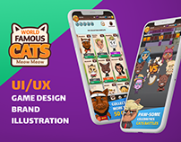 UI/UX + Illustration for mobile game