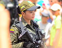 The Colombian Police