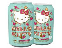 Hello Kitty Strawberry-Cola can design