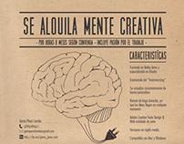 Se alquila mente creativa