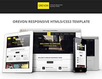 Orevon - Multipurpose HTML5 Responsive Template