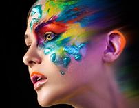 Colorful bang