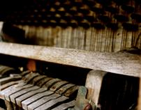 Improvised piano pieces