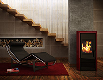 Fireplace Mediamant