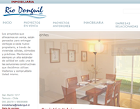 Website Inmobiliaria Río Donguil