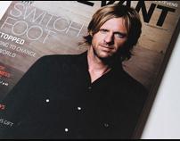 Relevant Magazine Nov/Dec 2009 Cover - Switchfoot