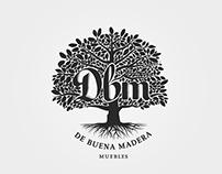 Logo / De Buena Madera - Muebles