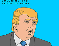 2016 Republican Presidential Candidates Coloring Book