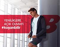new balance #koşanbilir 2015-2016 campaign