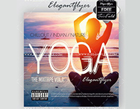 Yoga – Free CD Cover PSD Template