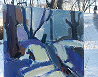 Paintings. Etudes.Pleinair.