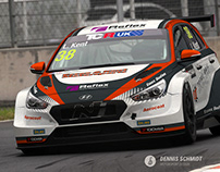 Livery design, Lewis Kent, TCR