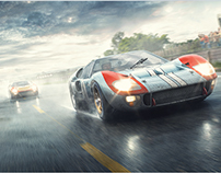 Ford GT40 MkII - Fords And The Furious