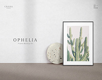 Ophelia: Frame Mockup Kit