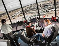 Airside Heathrow London