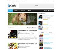 Splash WordPress Product Rating & Review Theme