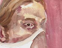 Caderno de pinturas