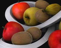 Nuum Fruit Basket / Project for In&D (2010)