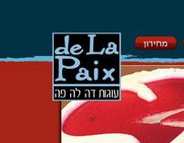 Site Design - De La Paix