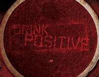 CD Cover: Bullets to Broadway - Drink Positive