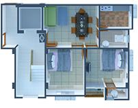3D Floor Planning Design