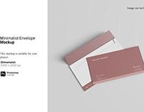 Minimalist Envelope Mockup