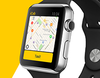 iCab Apple Watch Research, UX, Interaction