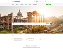 MyDestination Travel Accommodation & Magazine Web Desig