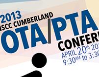 OTA/PTA Conference invitation & poster design