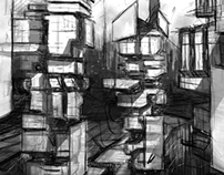 Crimson Rise Concept Sketches