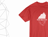 Heart Walk 2014 T-Shirt