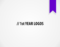 My 1st Year Logos