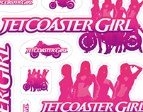 JETCOASTER GIRL sticker