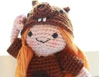 Amigurumi Squirrel girl