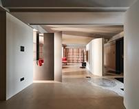 White Interior Design  Geometry