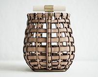 Leather in Basketry