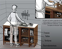 Rediseño de mueble de cocina.