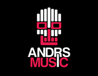 """ANDRS MUSIC"" Logo"